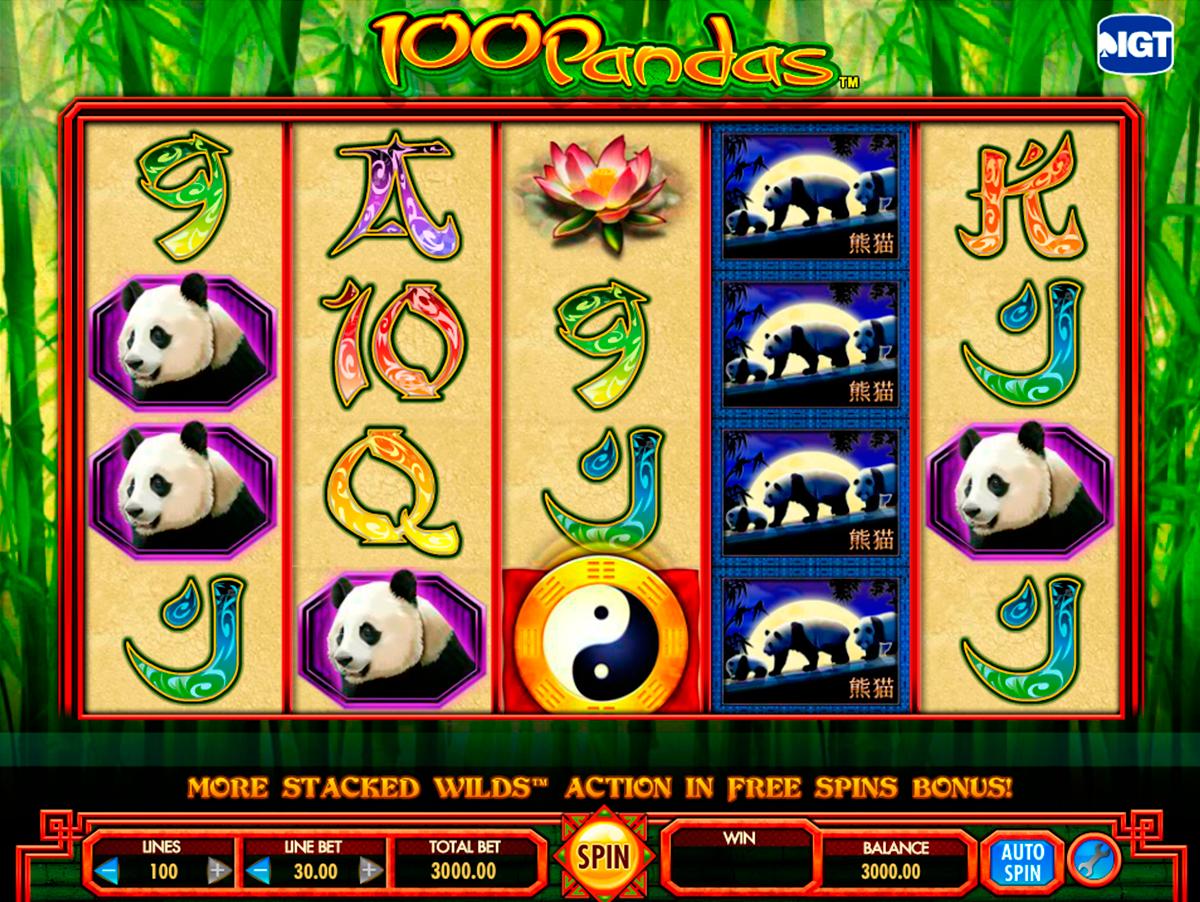 100 pandas igt