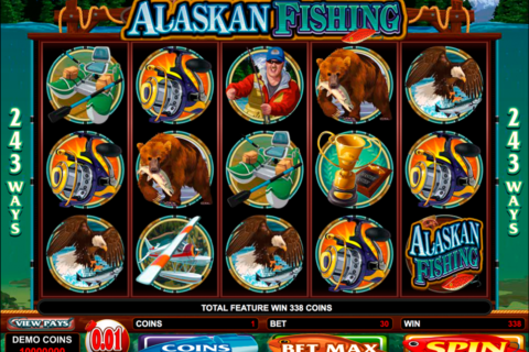 alaskan fishing microgaming
