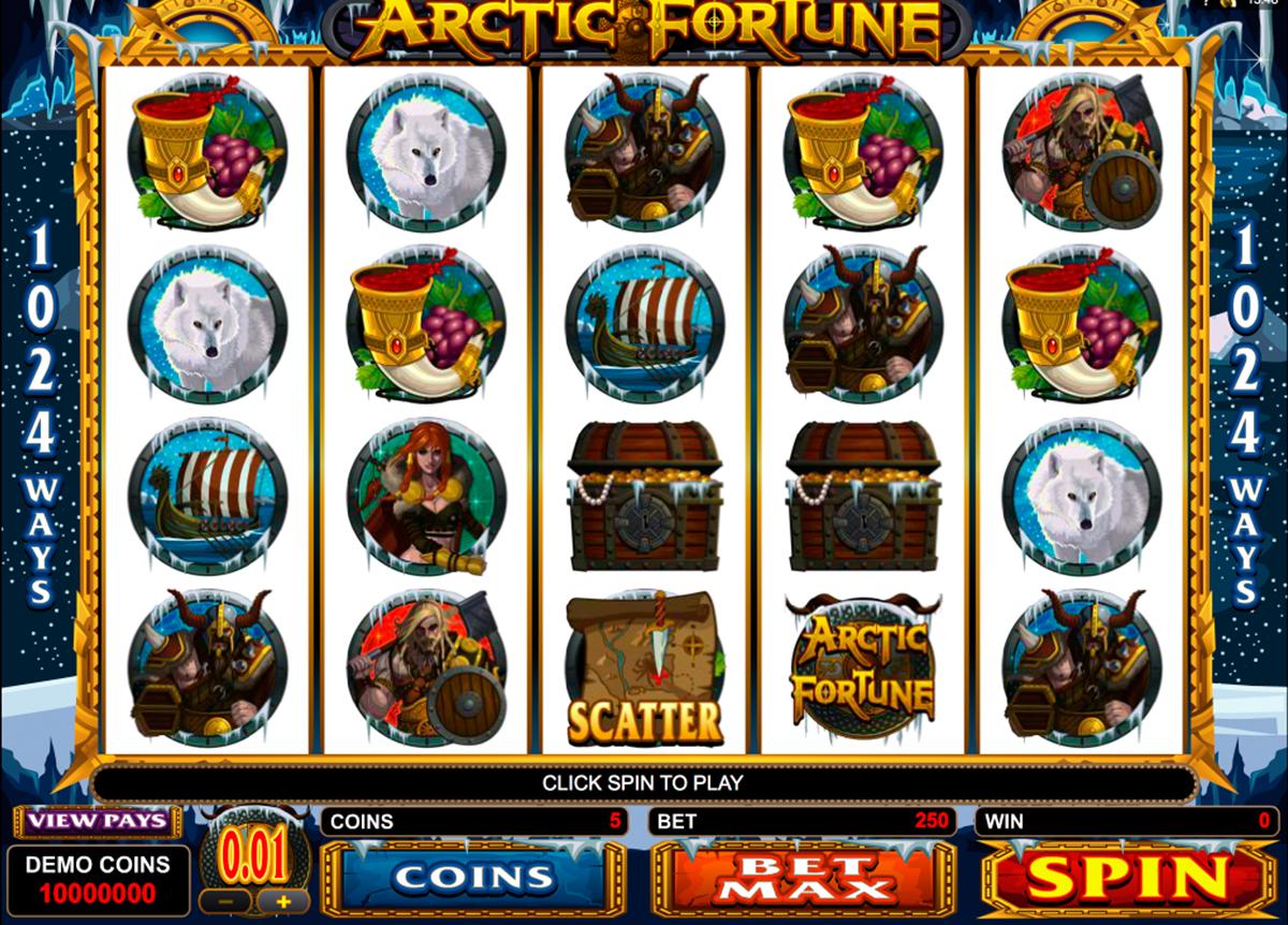 arctic fortune microgaming