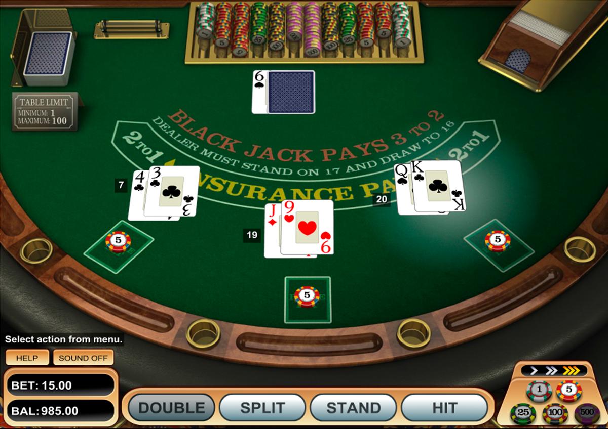 atlantic city blackjack gold microgaming