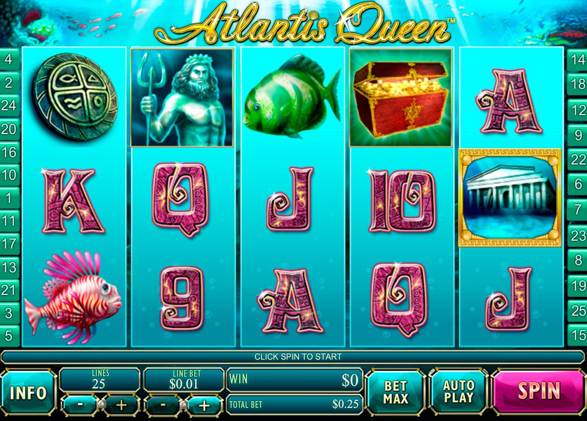 atlantis queen playtech