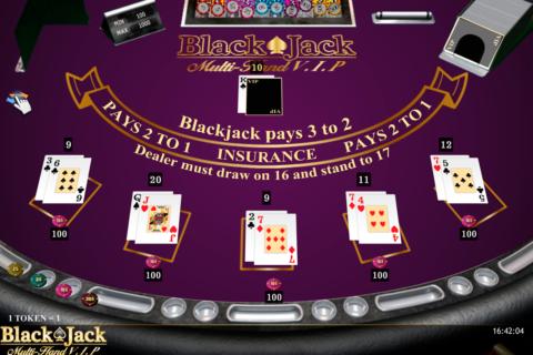 blackjack multihand vip isoftbet
