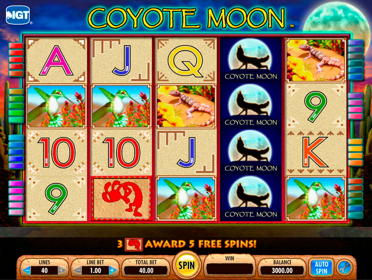 coyote moon igt