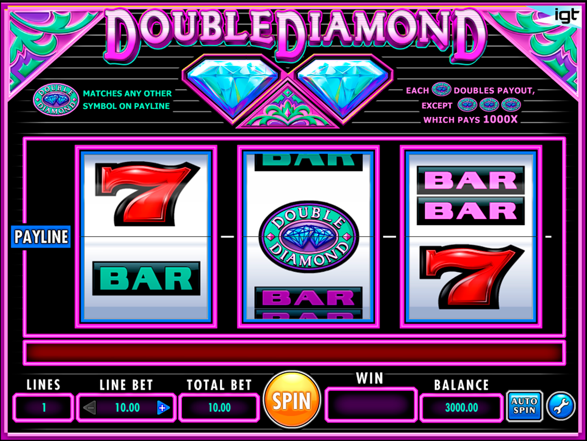 double diamond igt