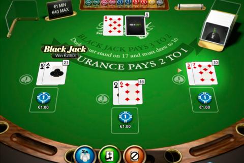 double posure blackjack professional series netent