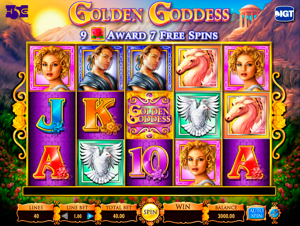 golden goddess igt