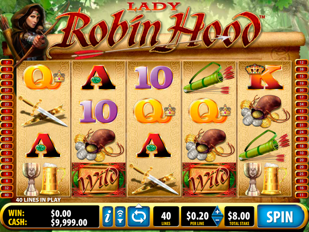 lady robin hood bally