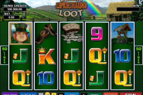lucky leprechauns loot microgaming