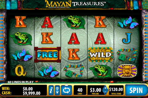mayan treasures bally