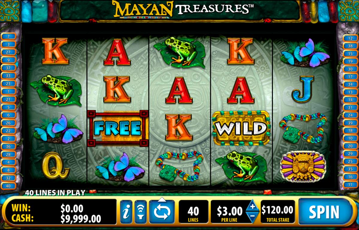 mayan treasures bally