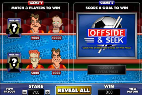 offside and seek microgaming