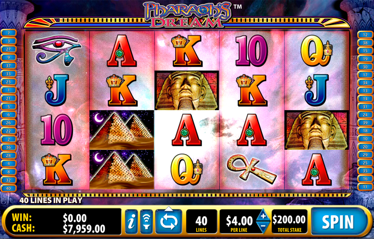 pharaohs dream bally