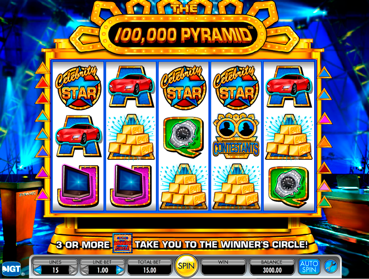 the 100000 pyramid igt